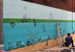 August 6, 2015 new mural
