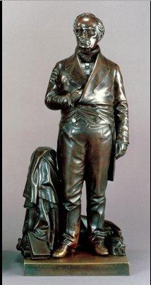 Daniel Webster, Ball sculpture White House