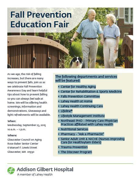 Falls Prevention Fair