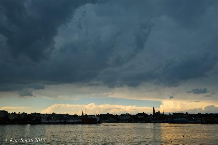 Gloucester city skyline summer storm ©Kim Smith 2015