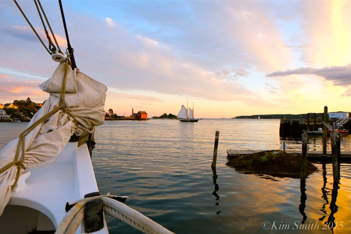 Gloucester Harbor View ©Kim Smith 2015