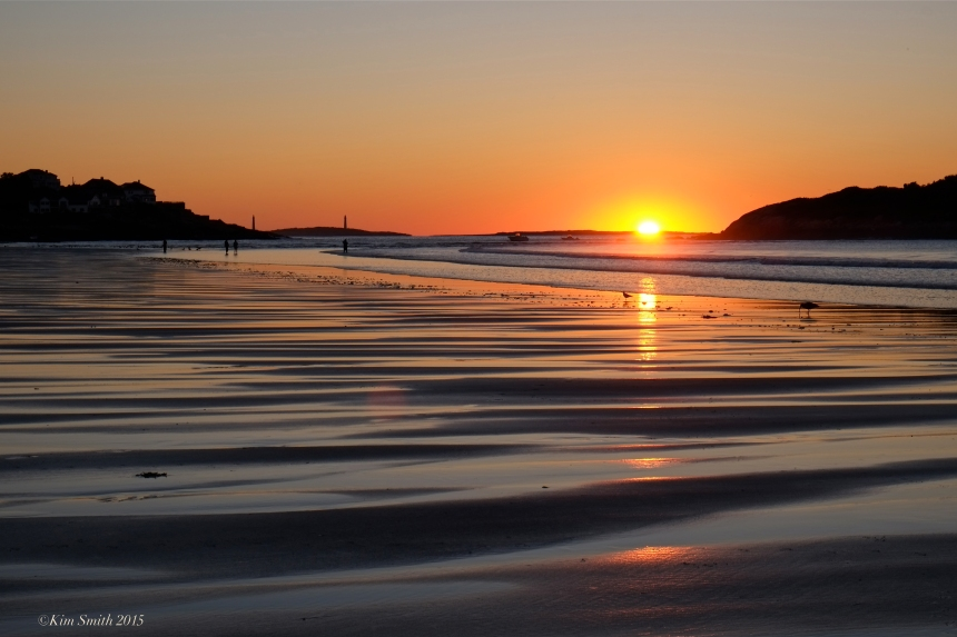 Good Harbor Beach sunrise ©Kim Smith 2015