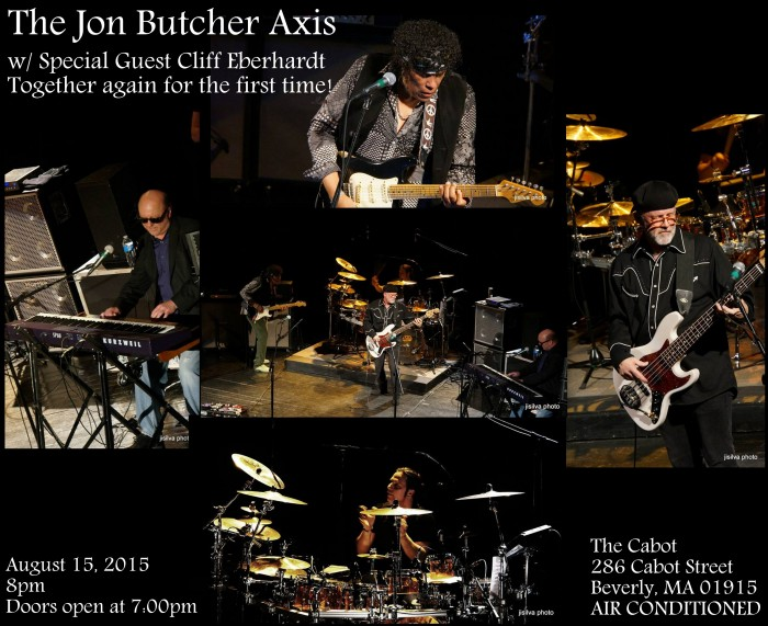 THE JON BUTCHER AXIS w/ Special Guest CLIFF EBERHARDT TOGETHER AGAIN for THE FIRST TIME