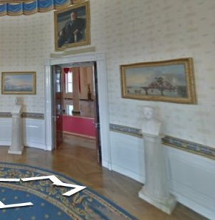 Lane installed White House collection