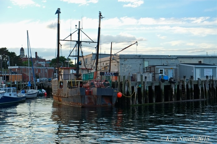 Lucy Fishing Boat Gloucester ©Kim Smith 2015