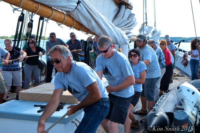 Schooner Adventure Gloucester August 5th -19 ©Kim Smith 2015