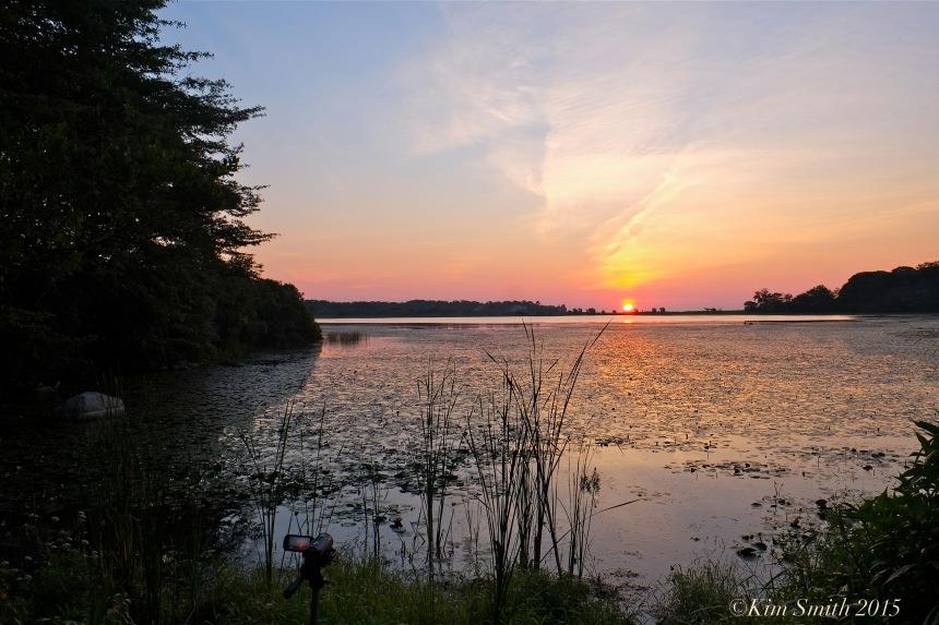 Sunrise Niles Pond ©Kim Smith 2015