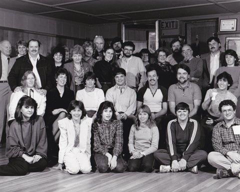 CAPS Annual Group Photo c1984
