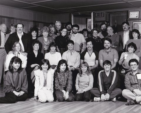 CAPS Annual Group Photo c1984