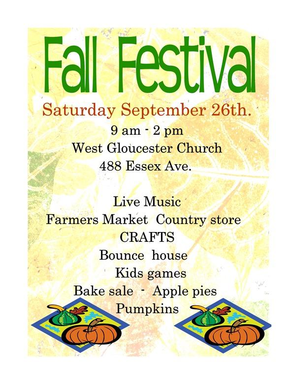fall fest church 2015