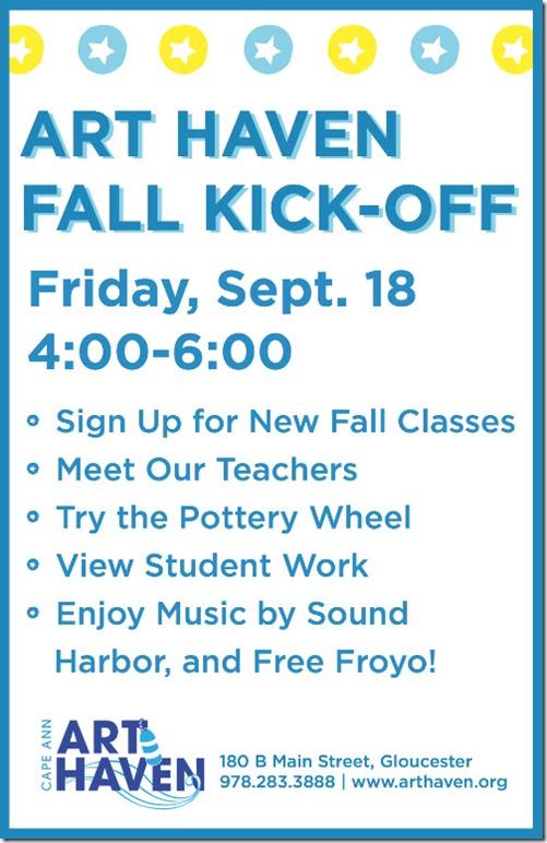 Fall Kick Off Info Night