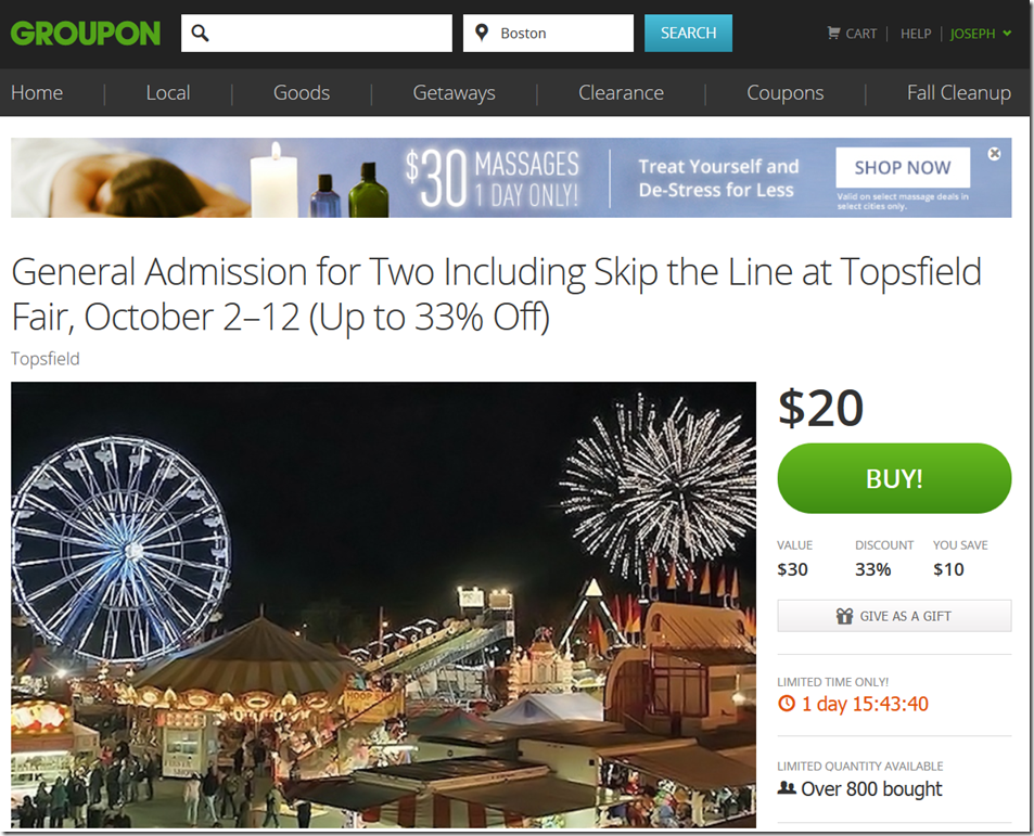 Its One Thing To Save A Lot Of Money On Topsfield Fair Tickets That