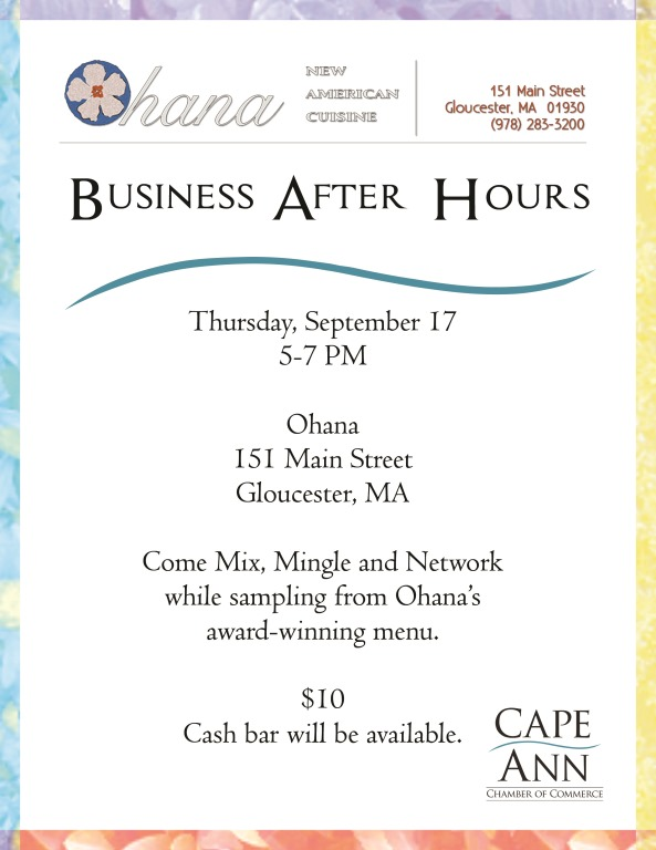 Ohana After Hours Flyer