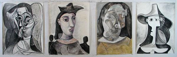 Picasso women studio