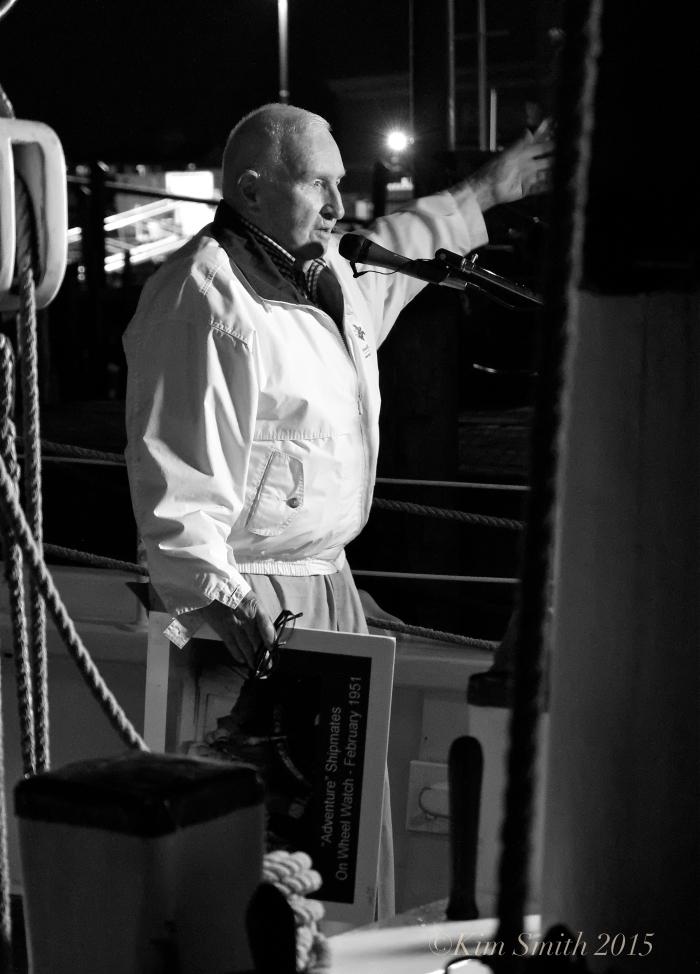 Ron Gilson Schooner Adventure Gloucester MA ©Kim Smith 2015