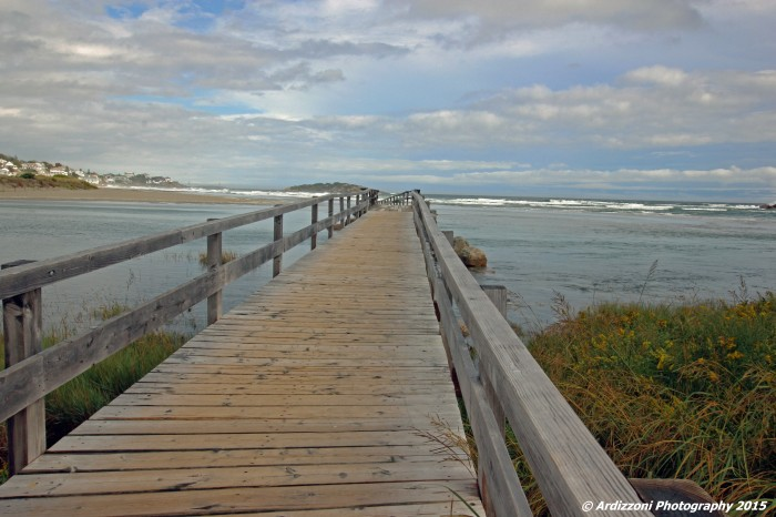 September 30, 2015 Foot bridge at Good Harbor Beach