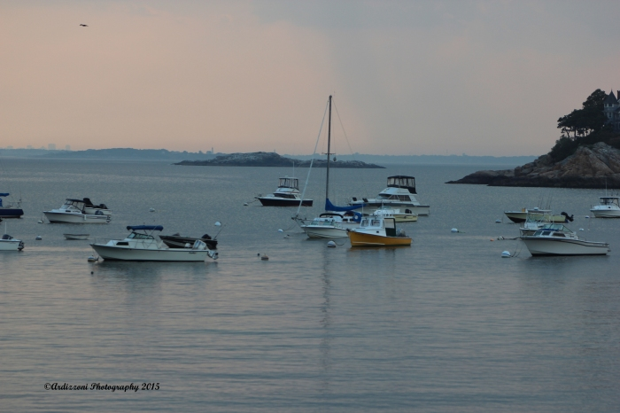 September 8, 2015 dusk at Magnolia Harbor