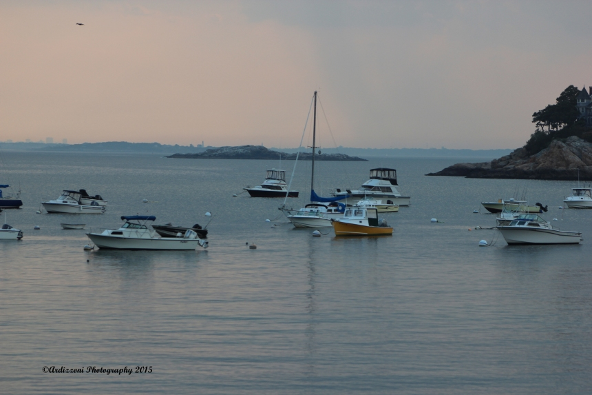 September 8, 2015 dusk at Magnolia Harbor