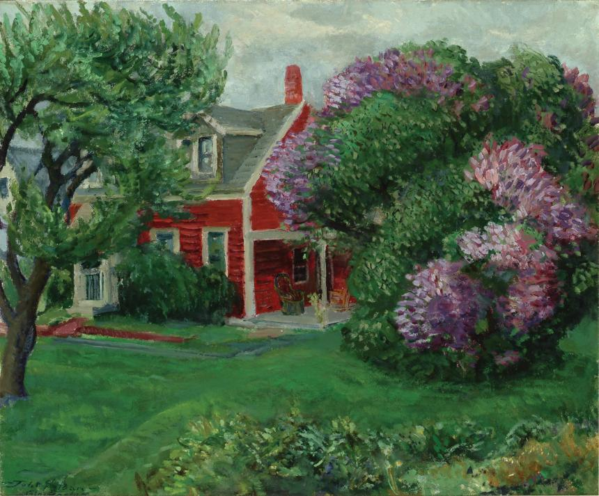 (Delaware)OurRedCottage,Lilacs[1]
