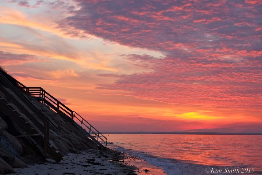 Dennis MA Cape Cod sunset -2 ©Kim Smith 2015