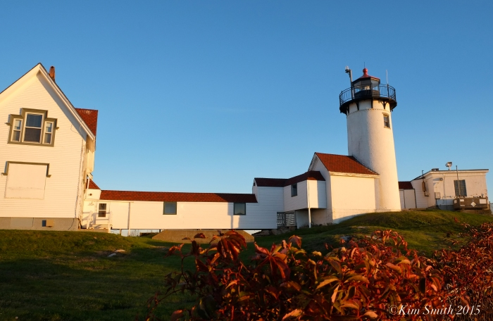 EASTERN POINT LIGHTHOUSE OCTOBER ©KIM SMITH 2015