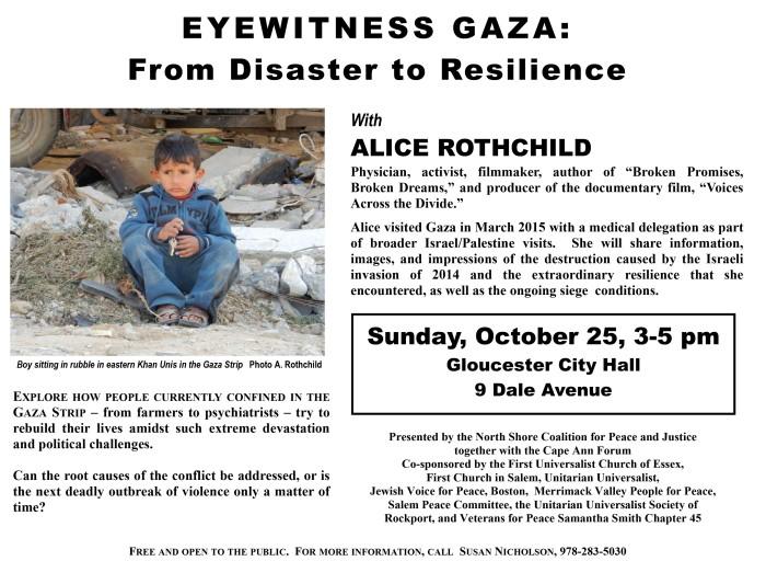 eyewitness gaza