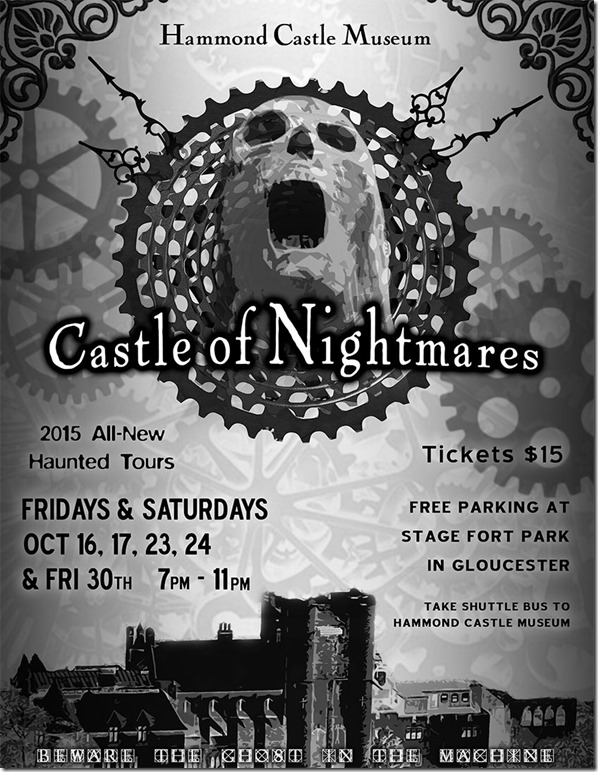 Hammond Castle Haunted House 2015