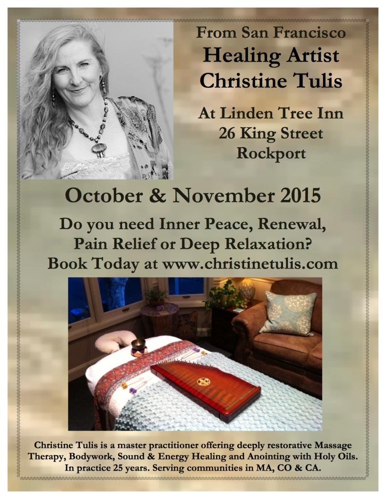 HEALING ARTIST Cape Ann Fall 2015