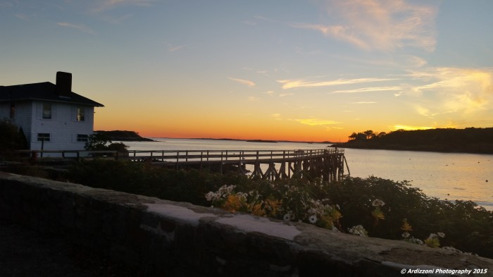 October 26, 2015 sunset at the pier