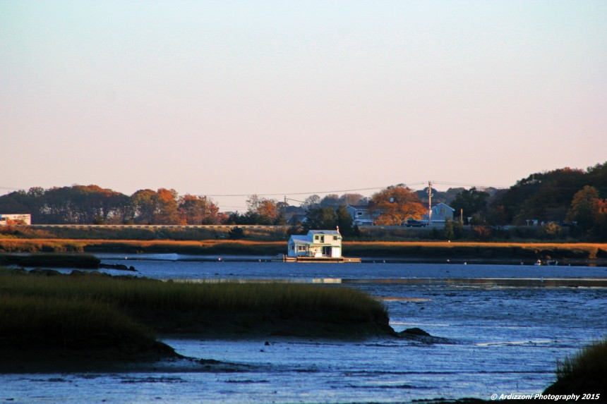 October 31, 2015 low tide little river early morning