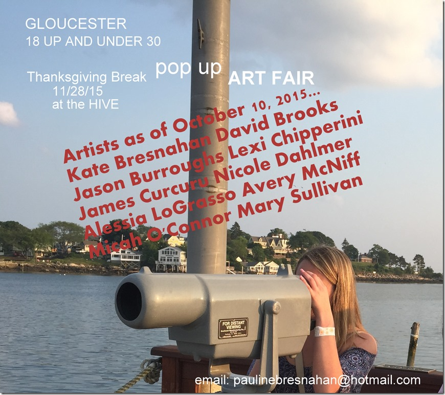 POP UP fair update Oct 11 2015
