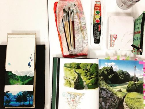 Tuesday watercolor class starts tonight! Join us next week 6-8pm