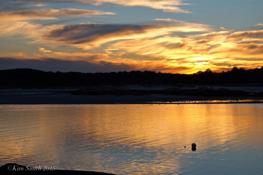 Annisquam River Sunset ©Kim Snith 2015
