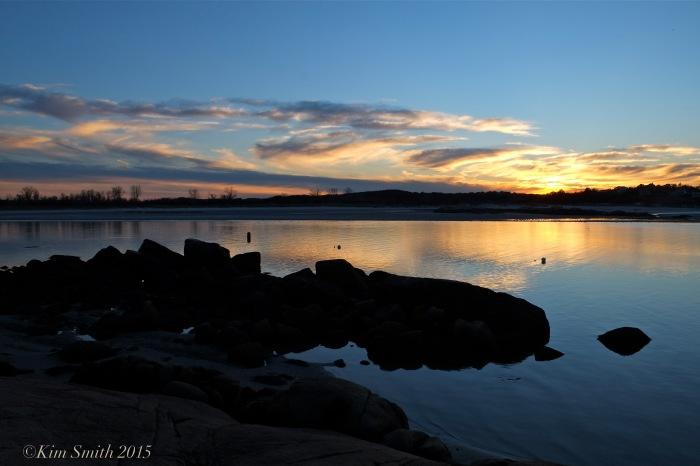 Annisquam sunset November ©Kim Smith 2015