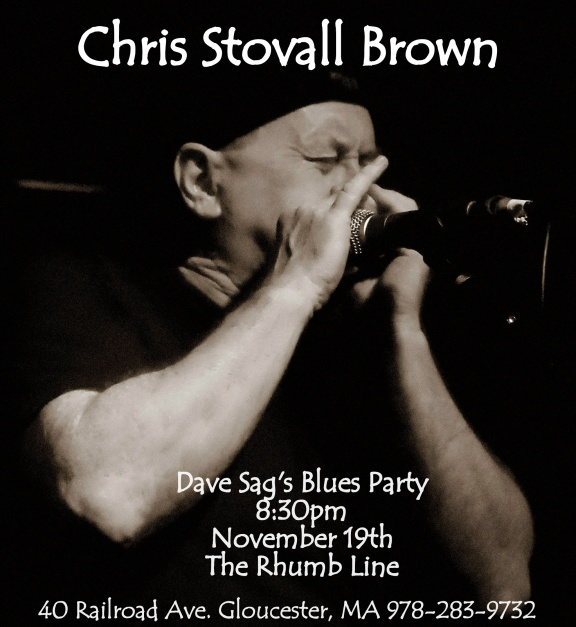 chris stovall brown dave sag's blues party11.19.2015