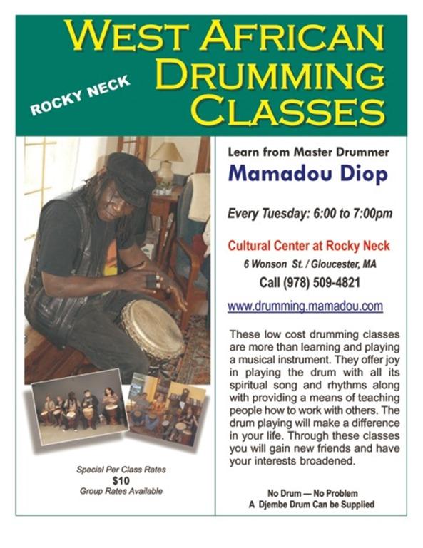 drumming class rocky neck 2015-r