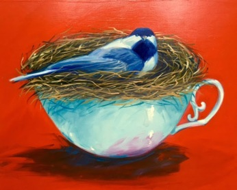 Lynne Sausele-World in a Teacup