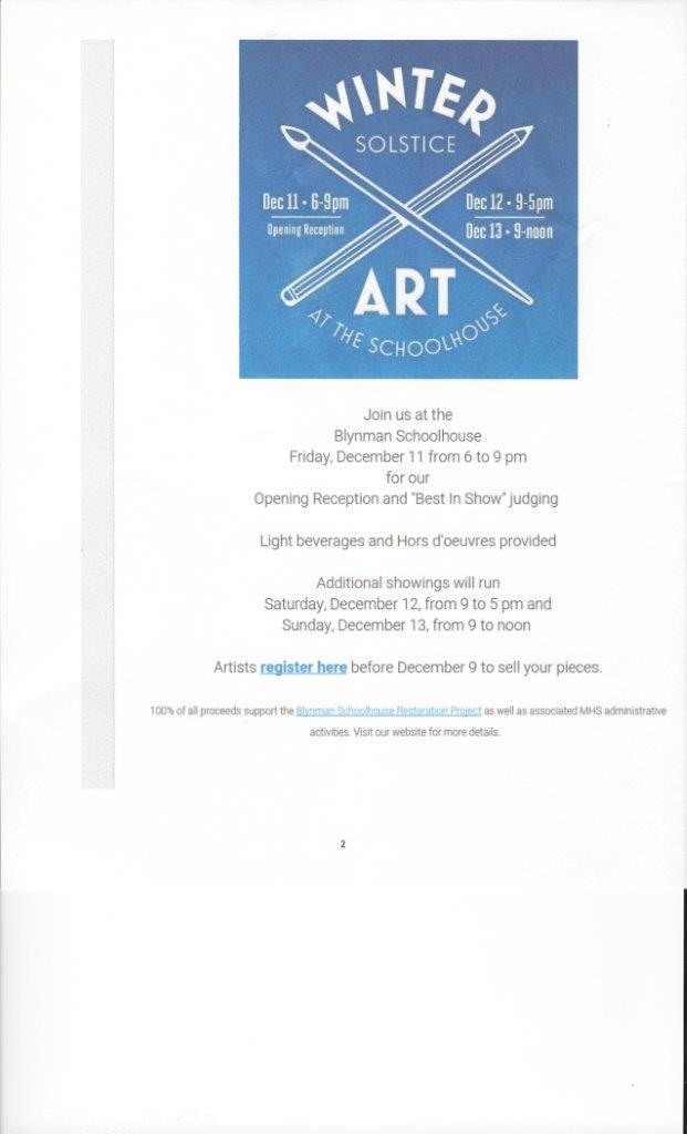 Magnolia Show December 11-12