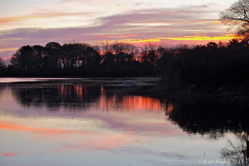 Niles Pond Sunrise ©Kim Smith 2015