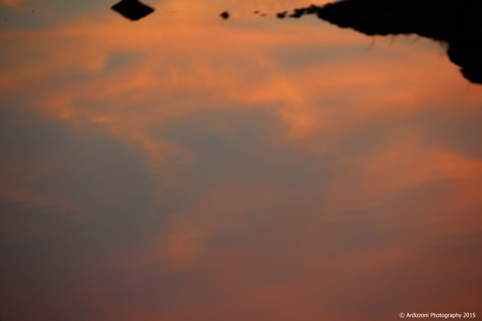 november 21, 2015 sky of reflection on the marsh