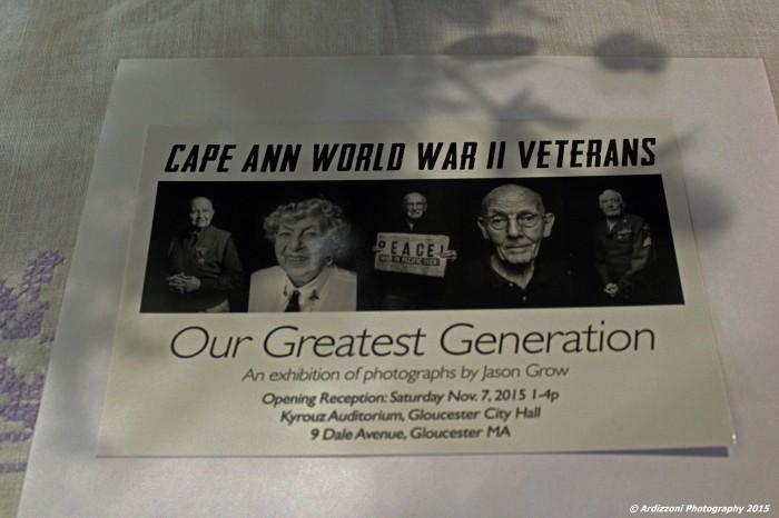 November 7, 2015 Cape Ann World War II Veterans
