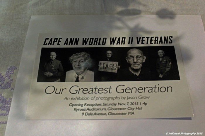 November 7, 2015 Cape Ann World War II Veterans