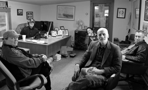 Podcast 157 Joey C, Jeff Aracrai, John Cahil, Jon Sarkin, Karen Pitschke ©Kim Smith 2015