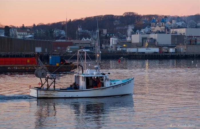 Amanda and Andy fishing boat ©Kim Smith 2015