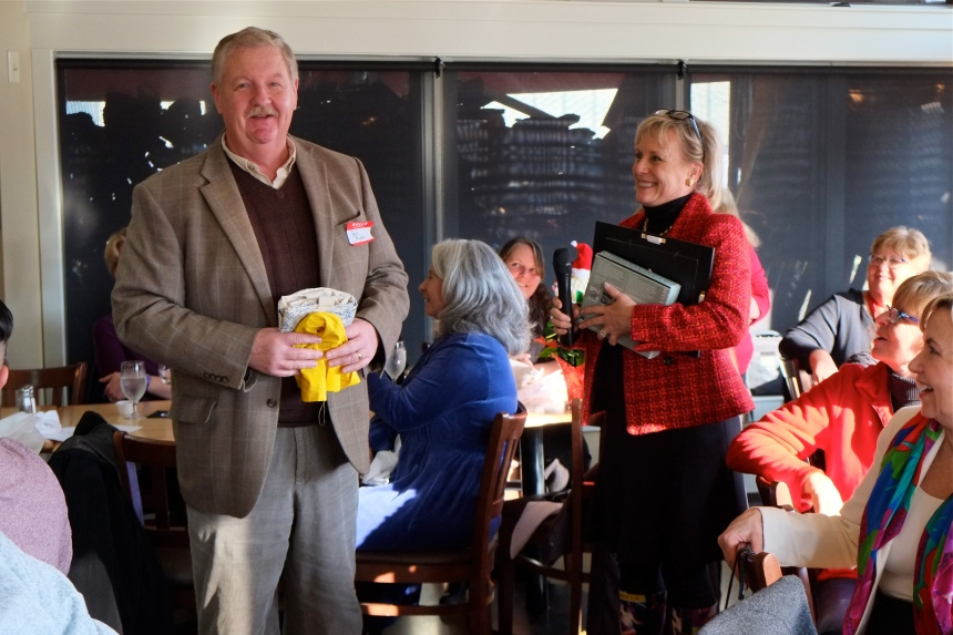 Bob Ryan Discover Gloucester 2015 Holiday Party