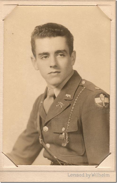 cadet mystery man