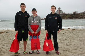 December 27, 2015 Young men ready to swim for a good cause