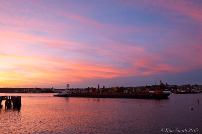 Gloucester Harbor Sunset ©Kim Smith 2015JPG