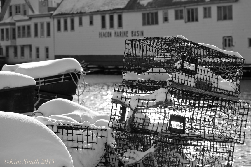 LOBSTER TRAPS SMITHS COVE EAST GLOUCESTER ©Kim Smith 2014