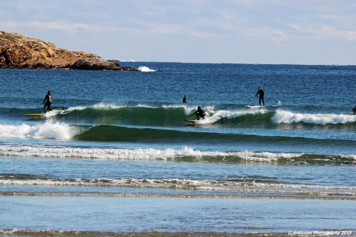 November 29, 2015 catching the waves on a Sunday morning